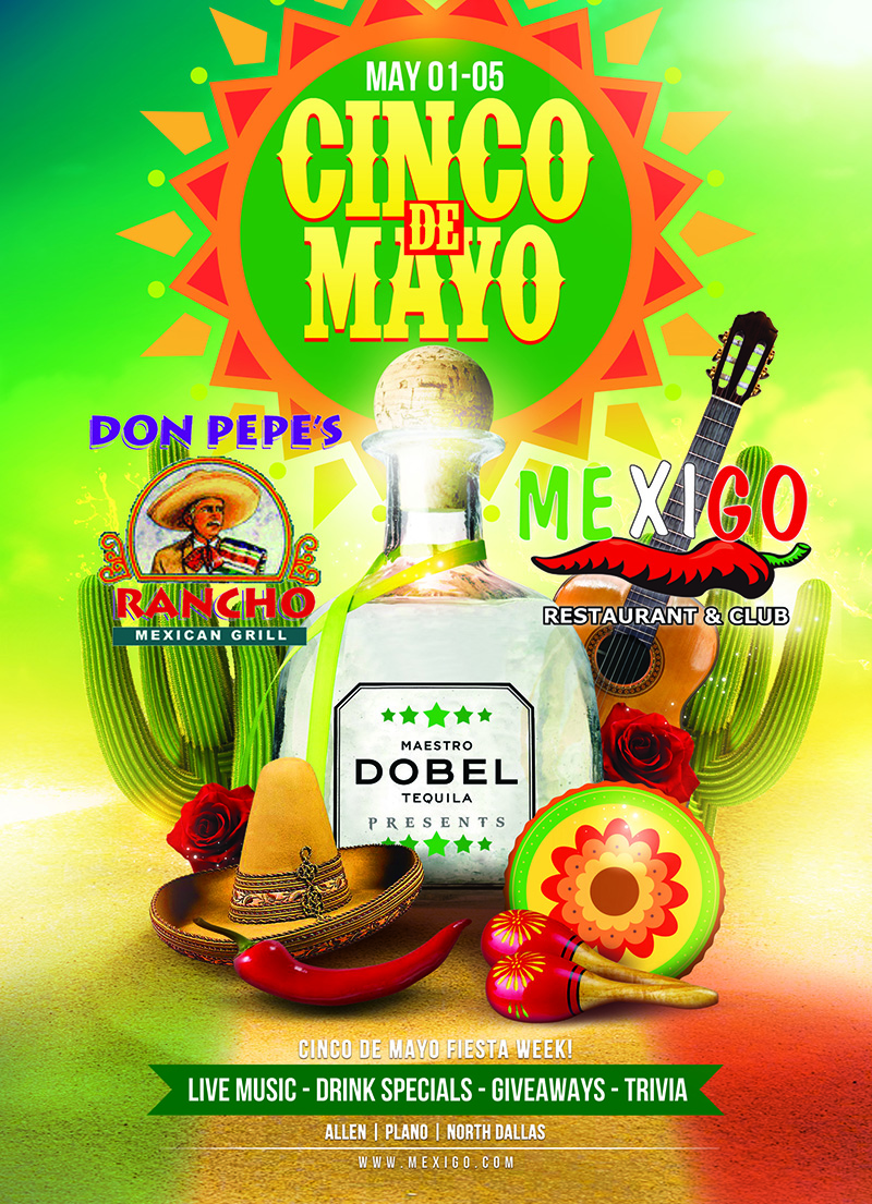 Cinco De Mayo 2018 Mexi Go Don Pepe S Rancho Restaurants